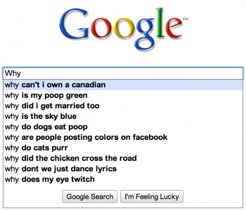 Spør Google og du får svar. (Foto: Skjermbilde)