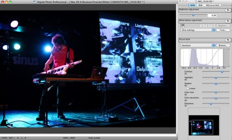 Digital Photo Professional: Programmet fra Canon som redda meg i kveld...